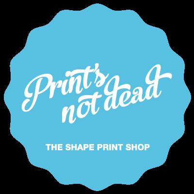 The shape print shop